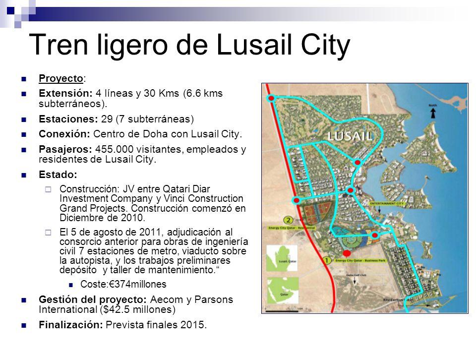 Tren ligero de Lusail City
