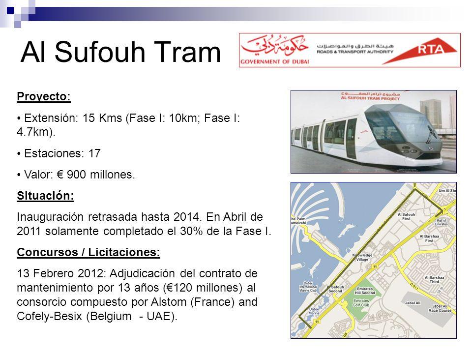 Al Sufouh Tram Proyecto: