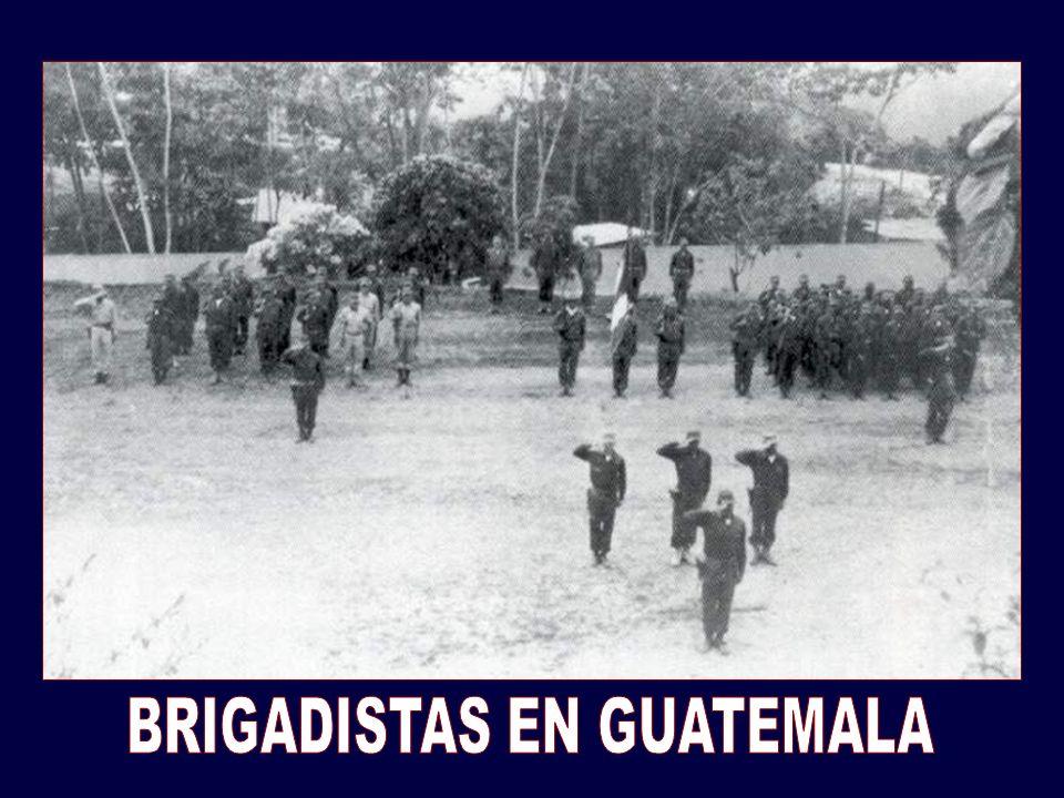 BRIGADISTAS EN GUATEMALA