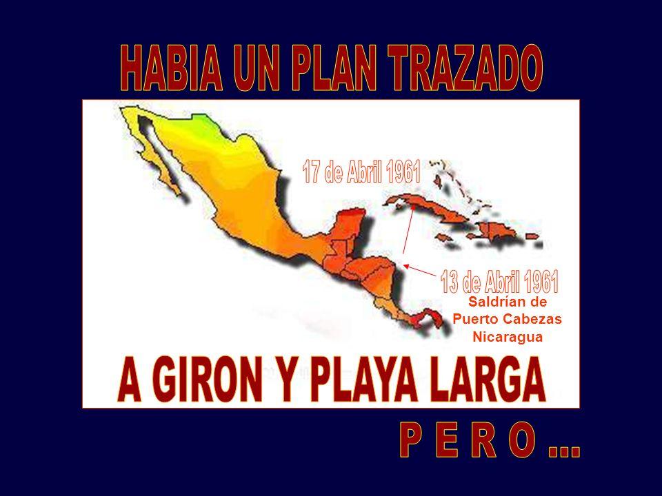 Saldrían de Puerto Cabezas Nicaragua