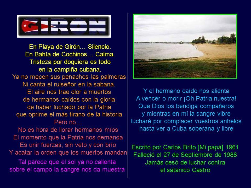 PLAYA DE GIRON En Playa de Girón… Silencio.