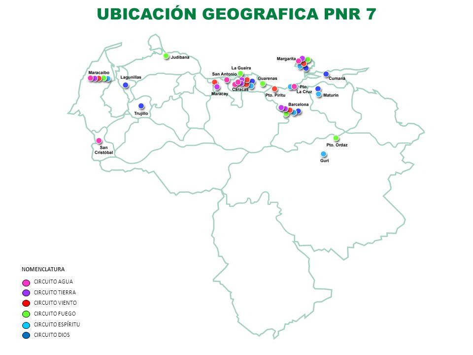 UBICACIÓN GEOGRAFICA PNR 7