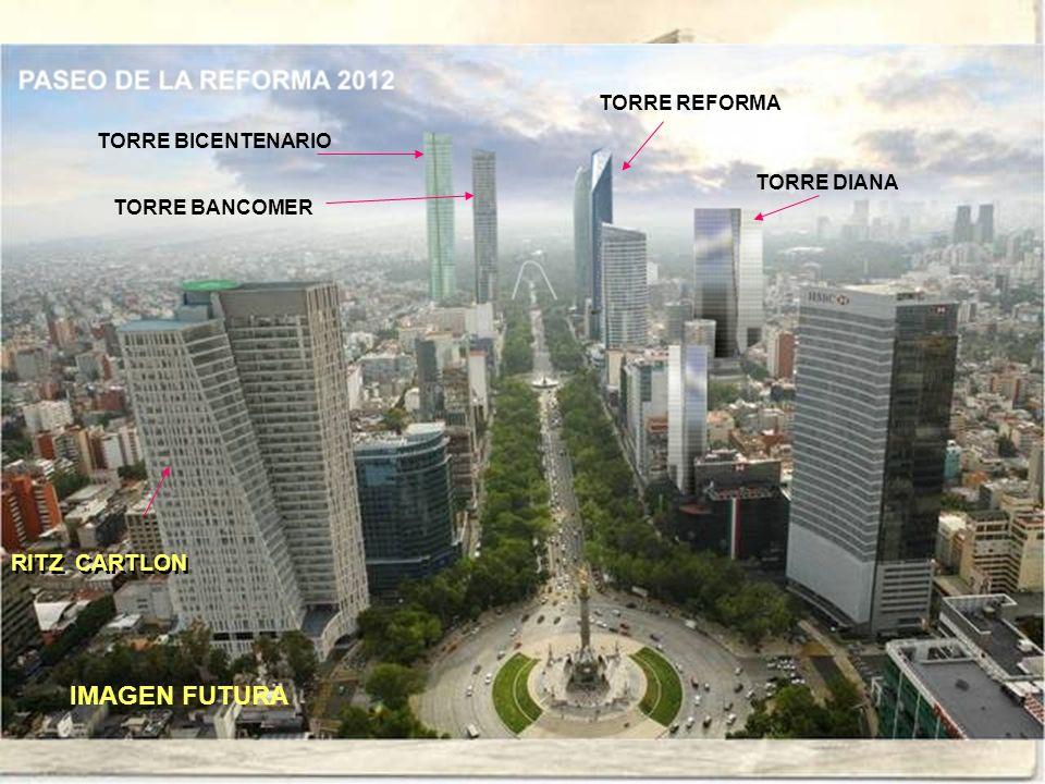IMAGEN FUTURA RITZ CARTLON TORRE REFORMA TORRE BICENTENARIO