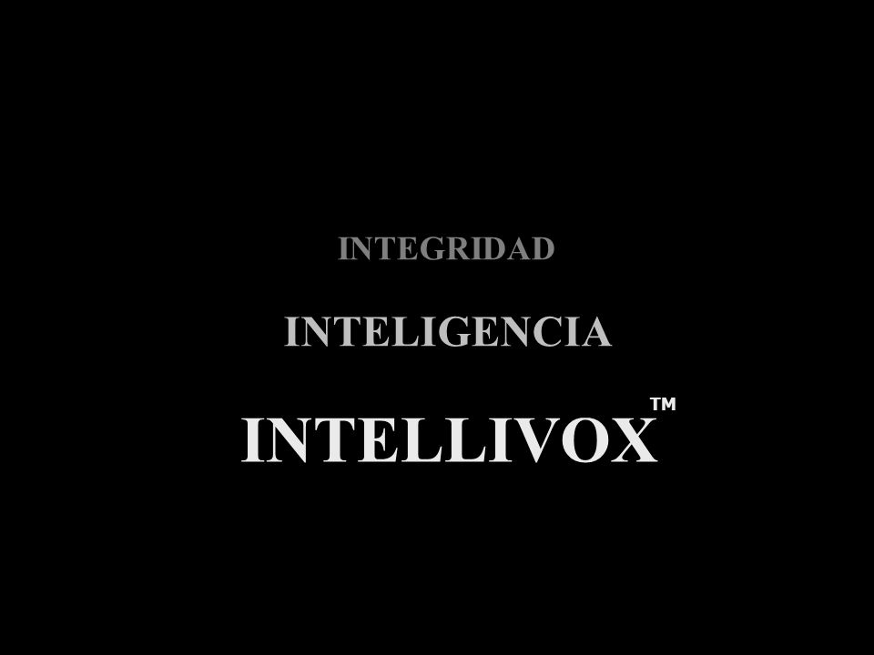 Integridad Inteligencia Intellivox TM