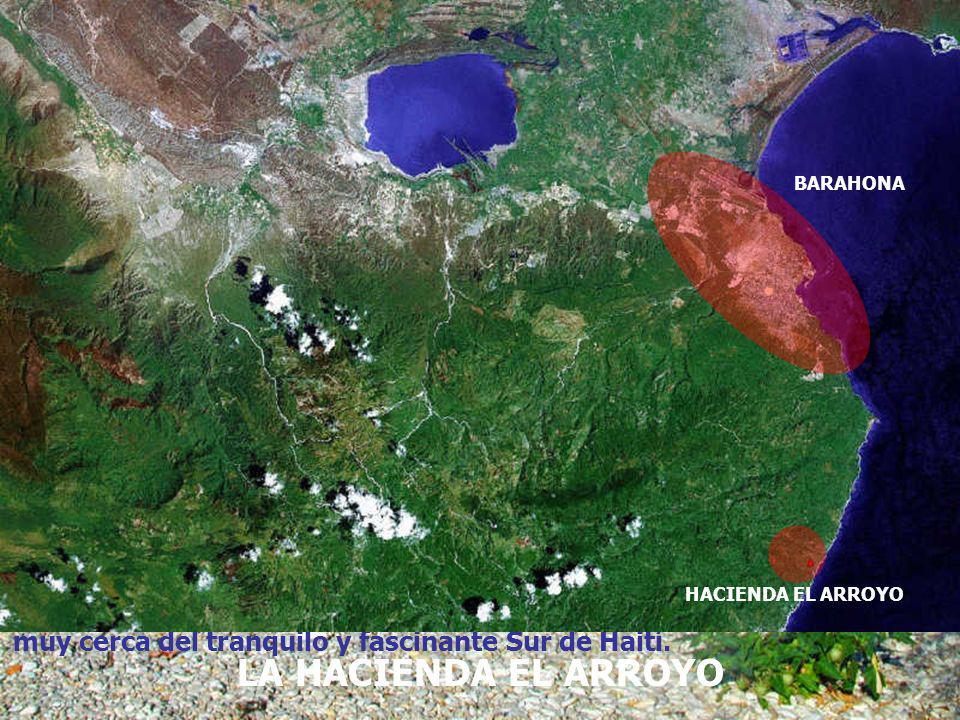 BARAHONA HACIENDA EL ARROYO. muy cerca del tranquilo y fascinante Sur de Haití.