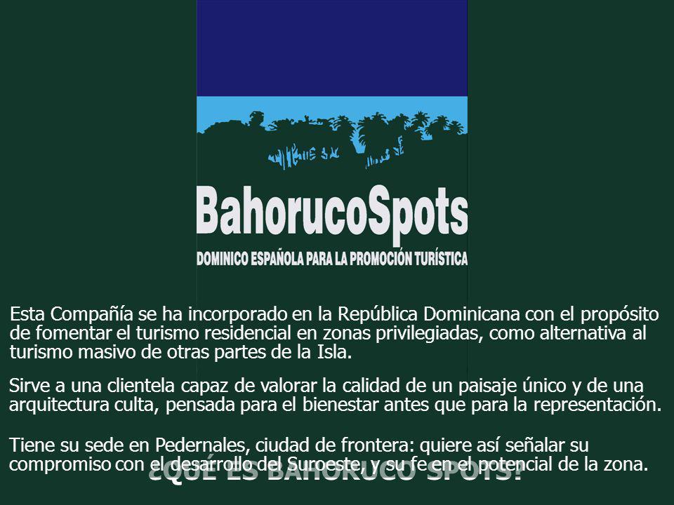 Esta Compañía se ha incorporado en la República Dominicana con el propósito de fomentar el turismo residencial en zonas privilegiadas, como alternativa al turismo masivo de otras partes de la Isla.