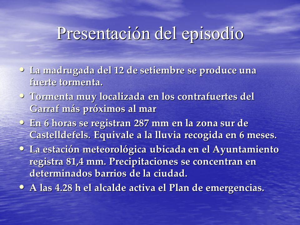Presentación del episodio