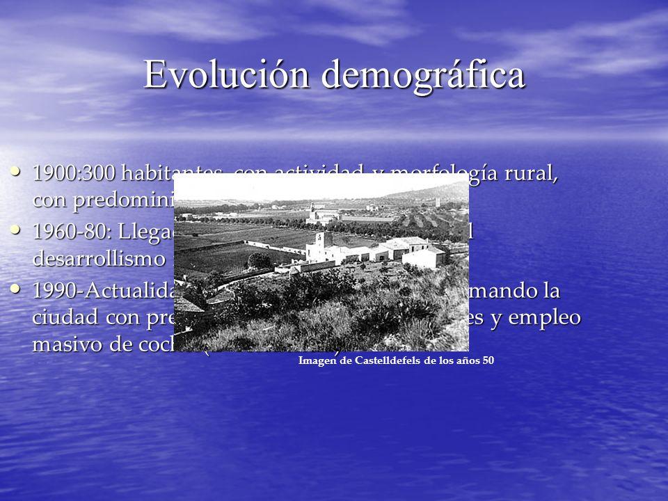 Evolución demográfica