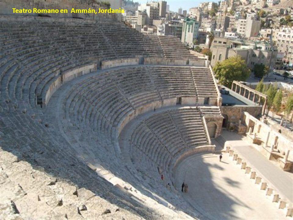 Teatro Romano en Ammán, Jordania