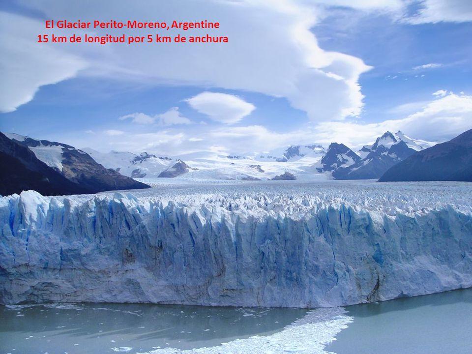 El Glaciar Perito-Moreno, Argentine