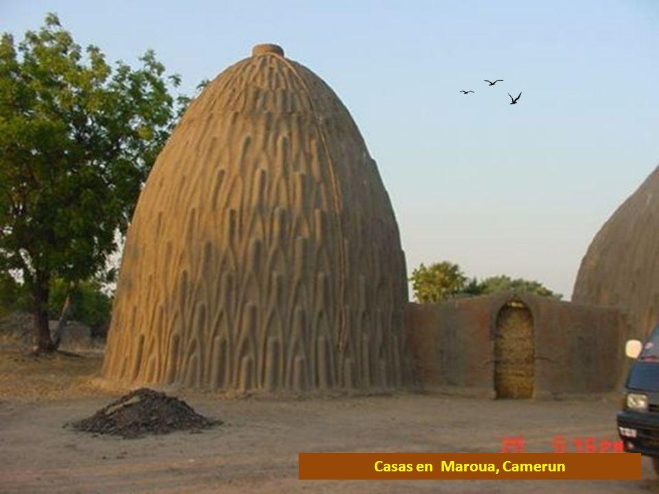 Casas en Maroua, Camerun