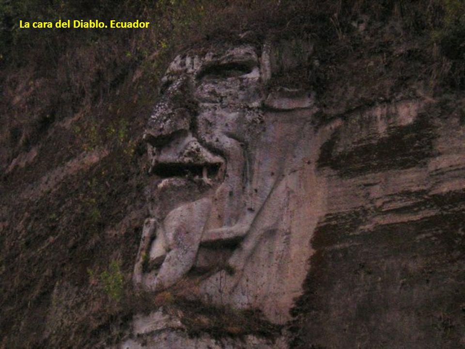 La cara del Diablo. Ecuador