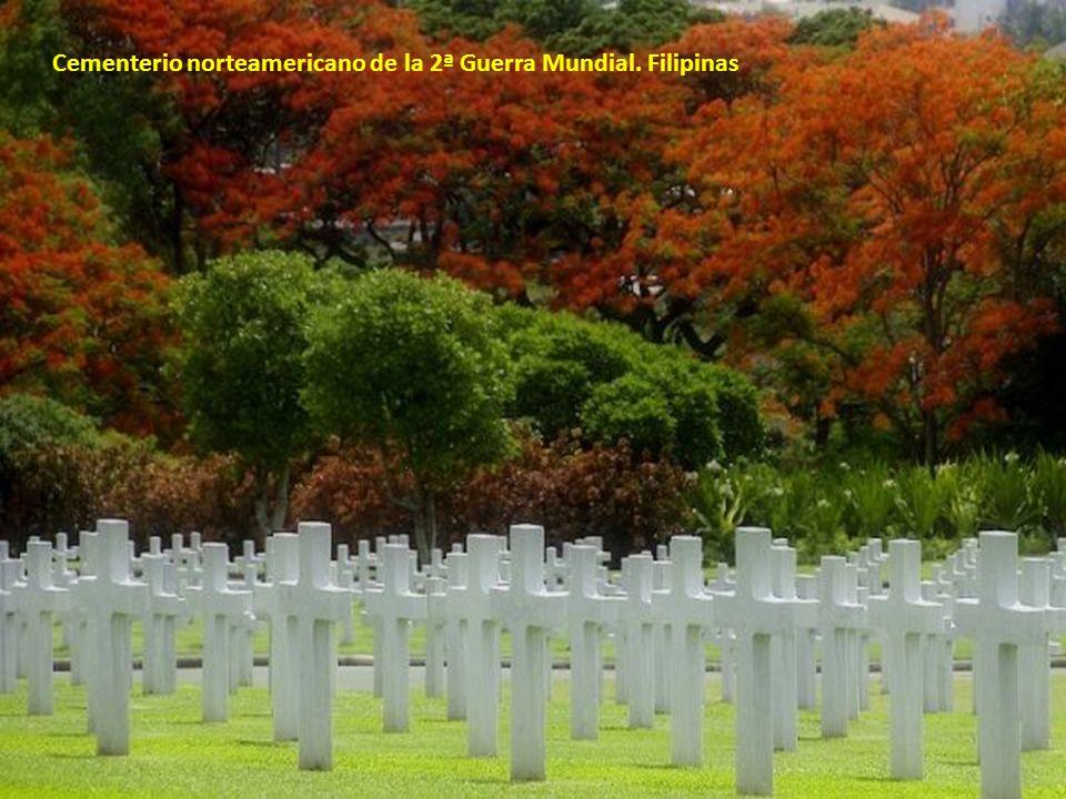 Cementerio norteamericano de la 2ª Guerra Mundial. Filipinas