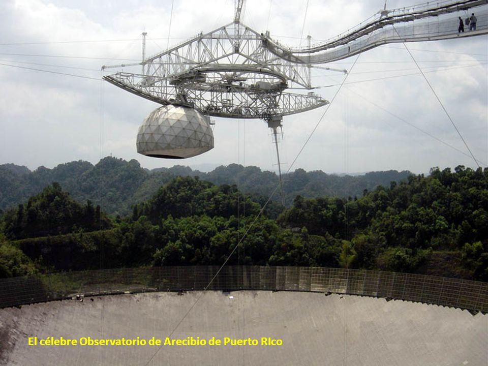El célebre Observatorio de Arecibio de Puerto RIco