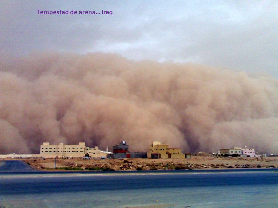 Tempestad de arena… Iraq