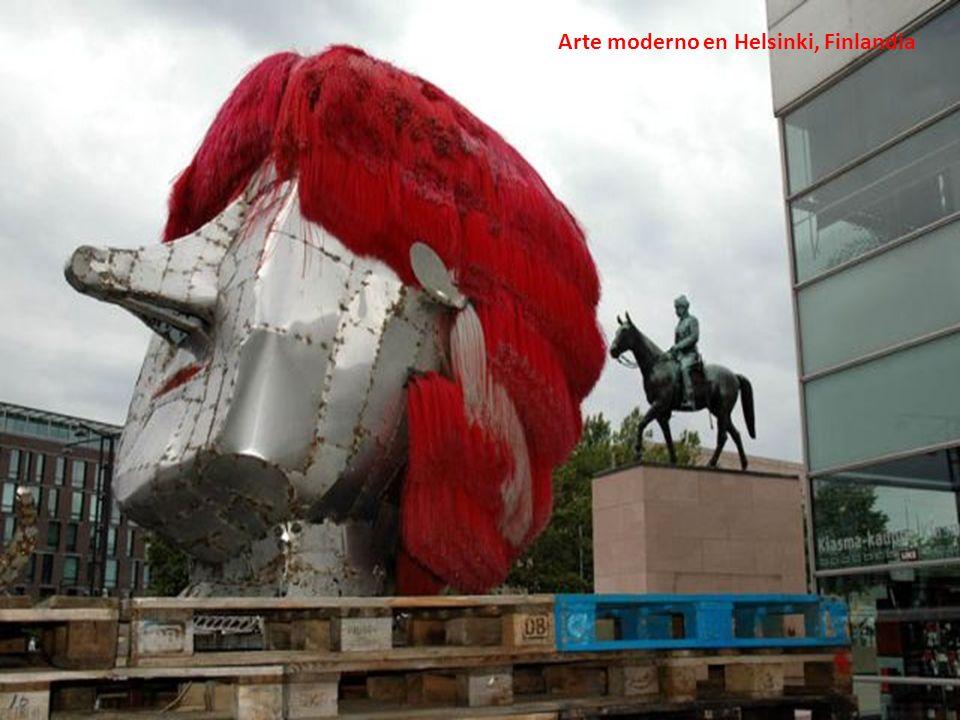 Arte moderno en Helsinki, Finlandia