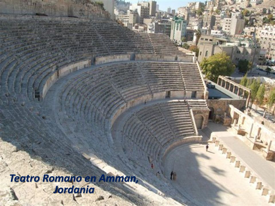 Teatro Romano en Amman, Jordania