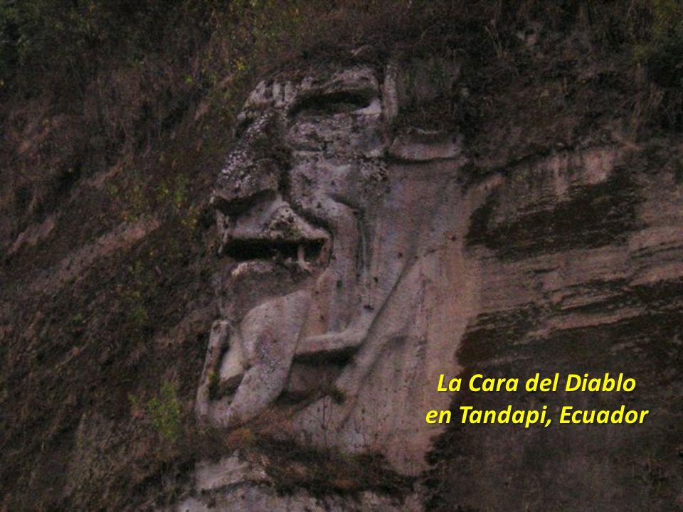 La Cara del Diablo en Tandapi, Ecuador