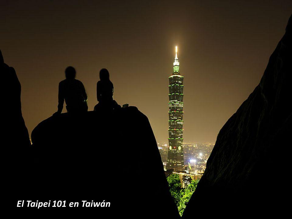 El Taipei 101 en Taiwán