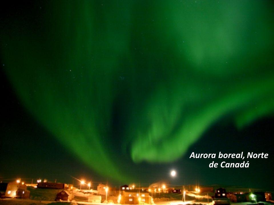 Aurora boreal, Norte de Canadá
