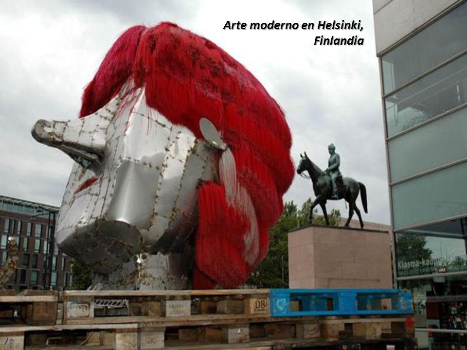 Arte moderno en Helsinki,