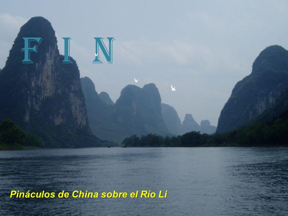 F I N Pináculos de China sobre el Río Li