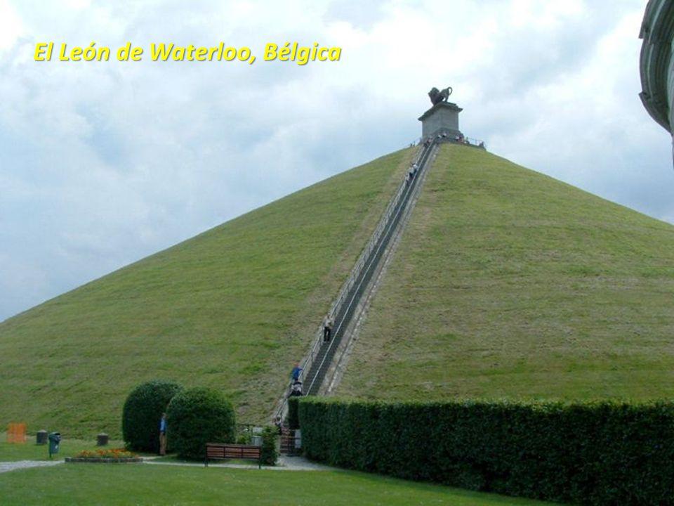 El León de Waterloo, Bélgica
