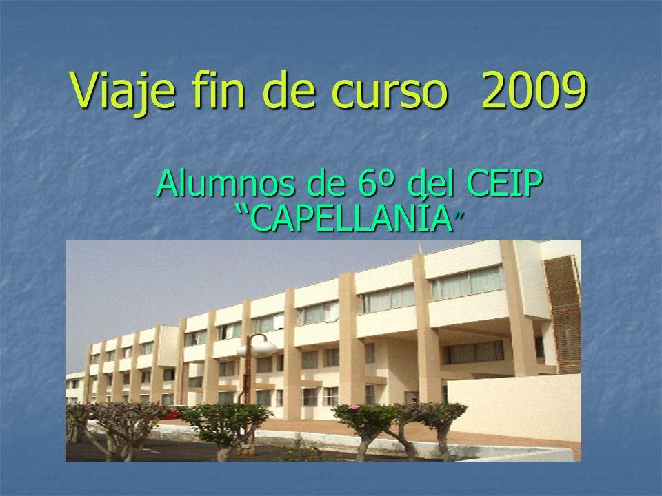 Alumnos de 6º del CEIP CAPELLANÍA