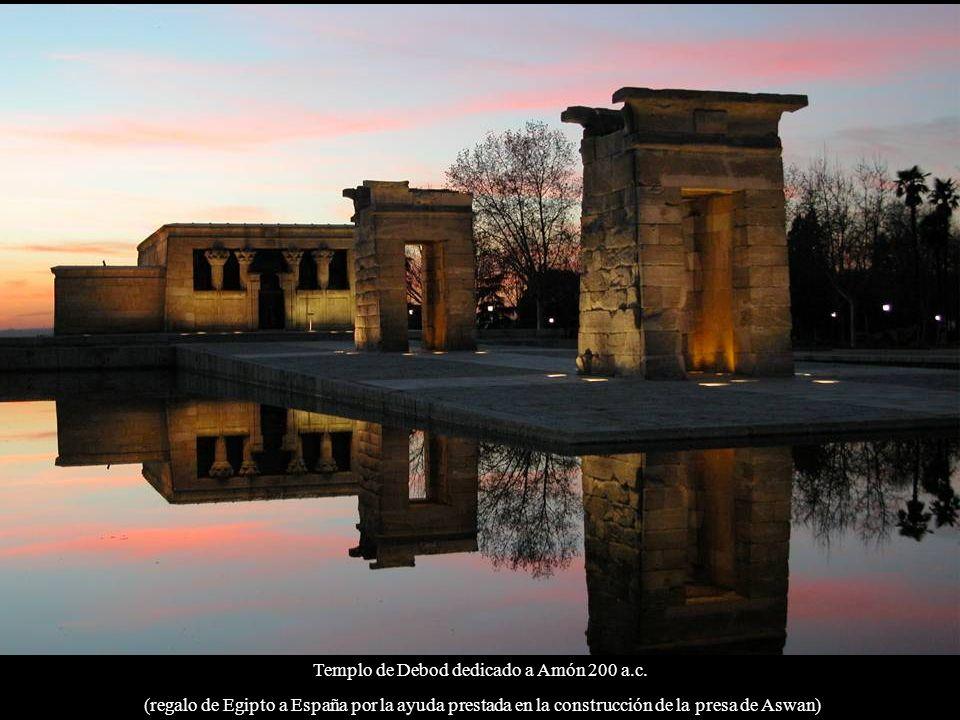 Templo de Debod dedicado a Amón 200 a.c.