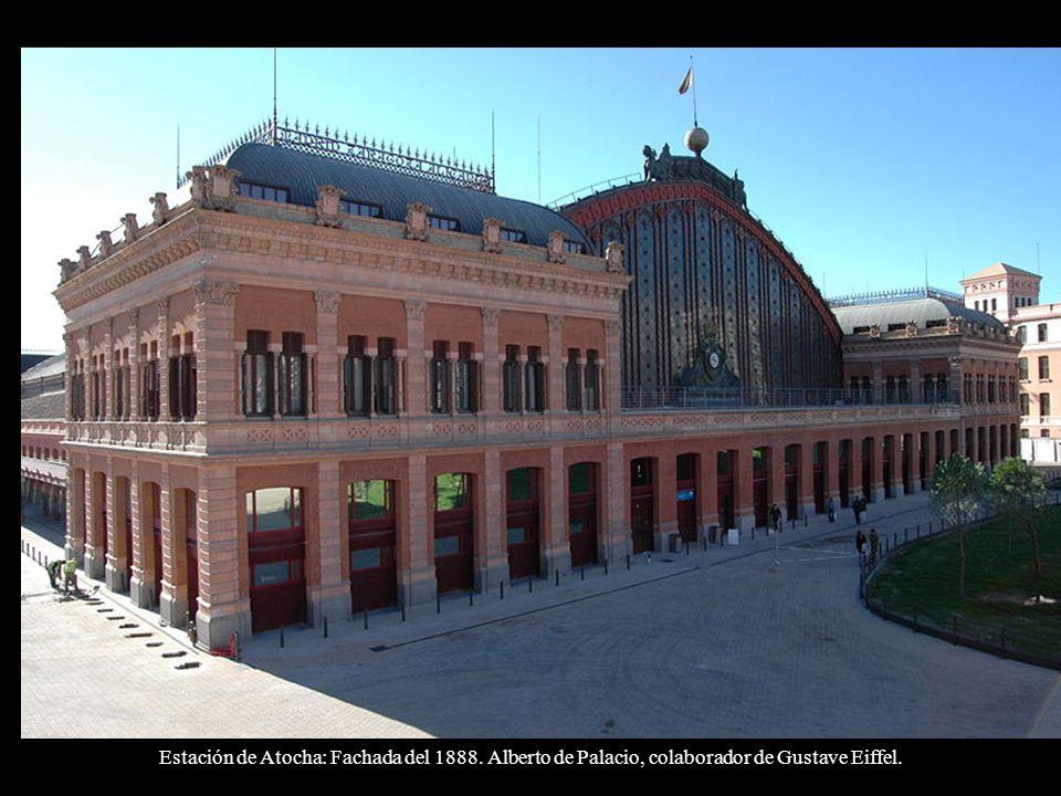 Estación de Atocha: Fachada del 1888