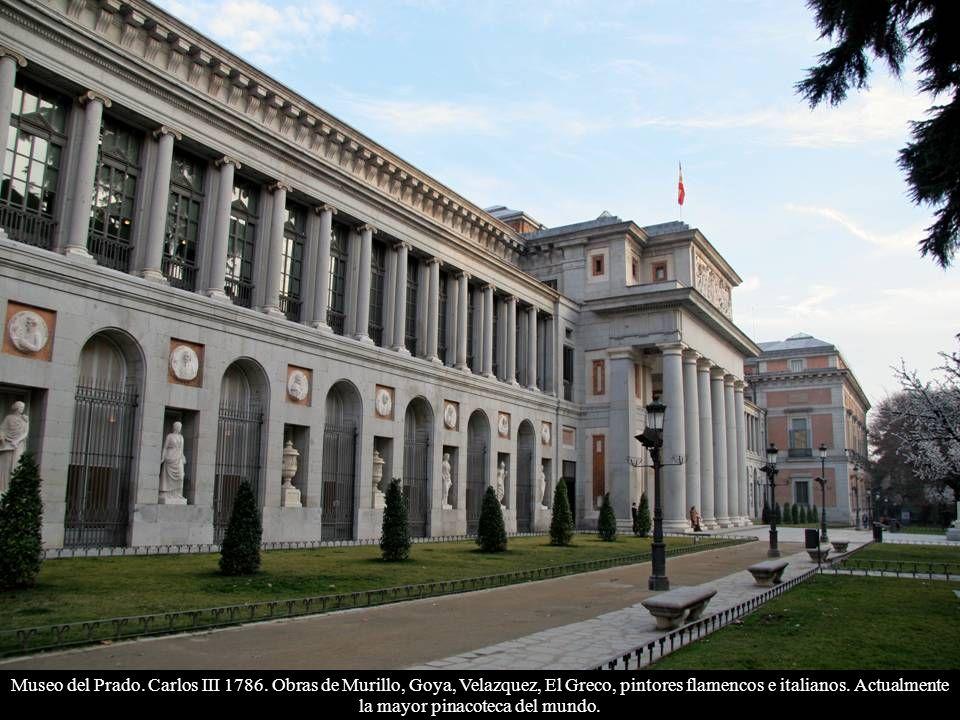 Museo del Prado. Carlos III 1786