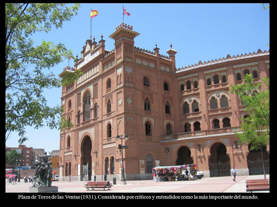 Plaza de Toros de las Ventas (1931)