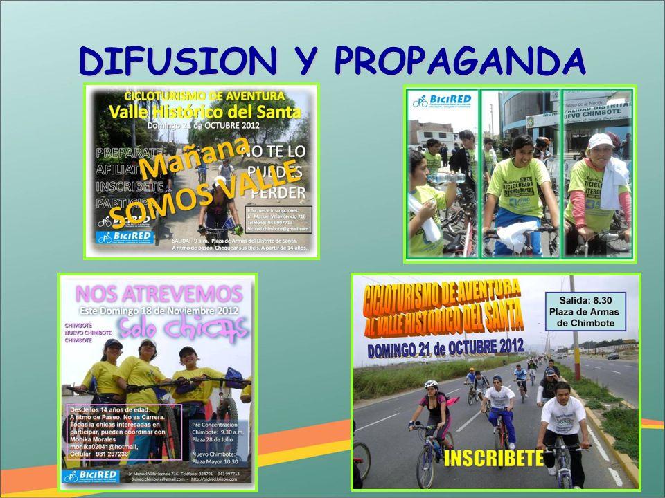 DIFUSION Y PROPAGANDA
