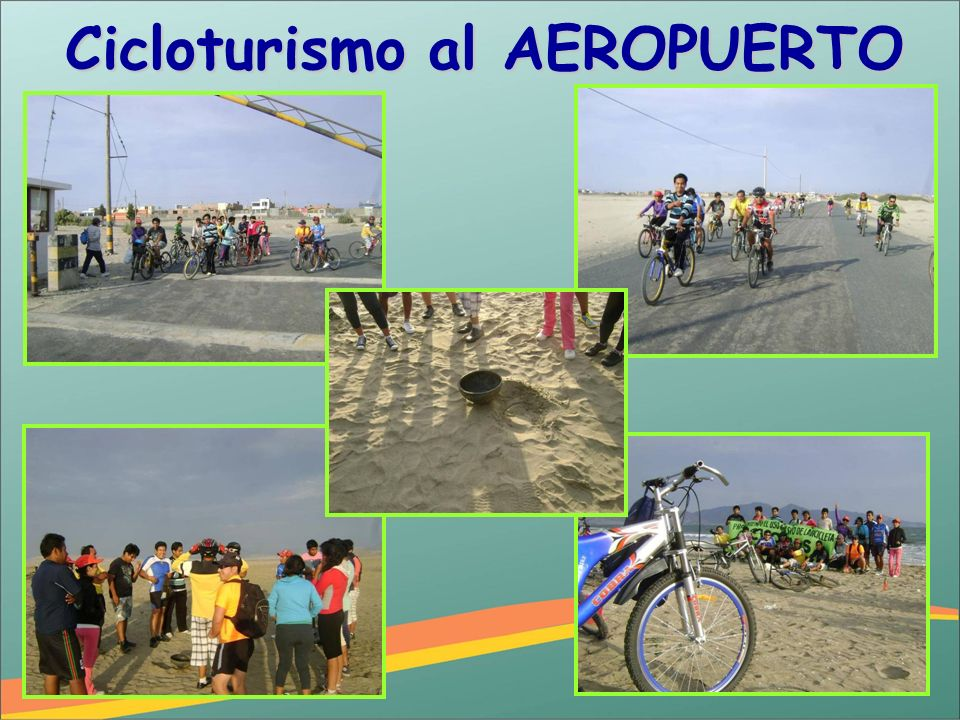 Cicloturismo al AEROPUERTO