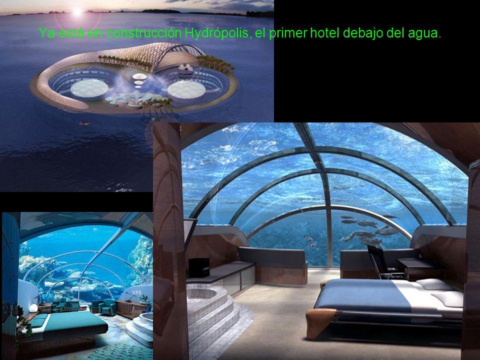 Ya está en construcción Hydrópolis, el primer hotel debajo del agua.