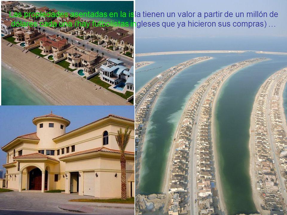 Las propiedades asentadas en la isla tienen un valor a partir de un millón de dólares cada una (hay futbolistas ingleses que ya hicieron sus compras) …