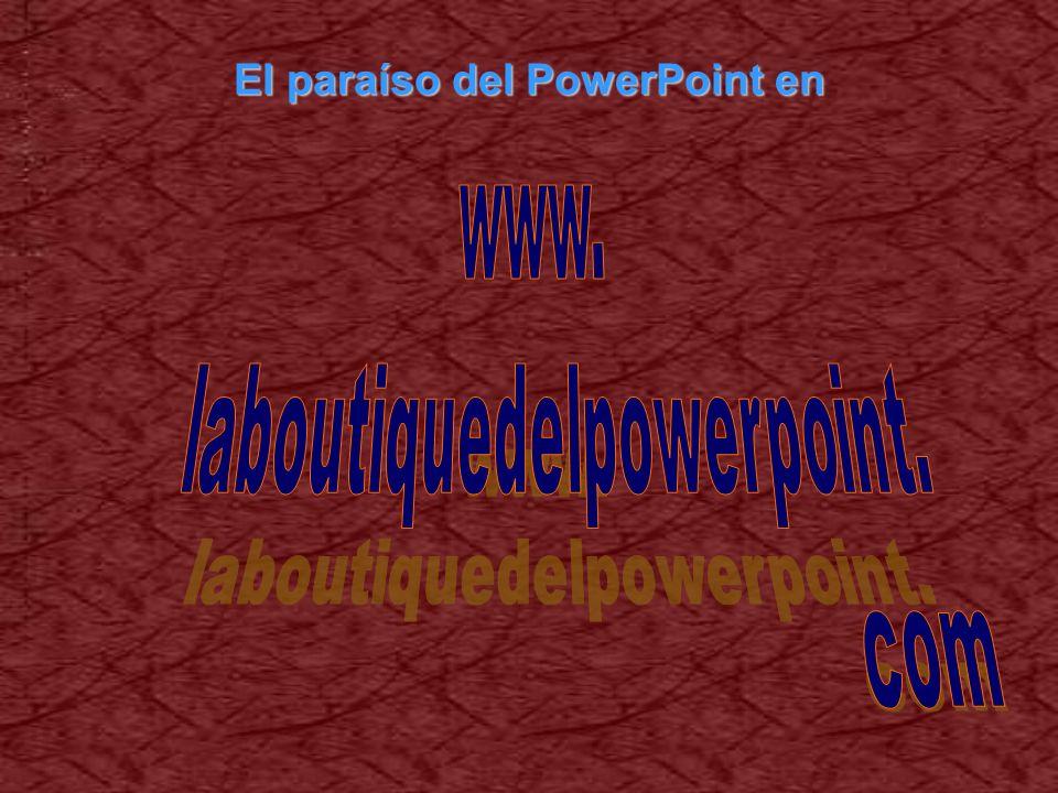 El paraíso del PowerPoint en