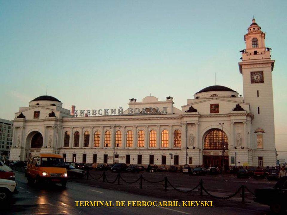 TERMINAL DE FERROCARRIL KIEVSKI