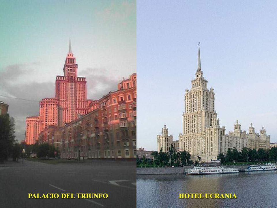 PALACIO DEL TRIUNFO HOTEL UCRANIA