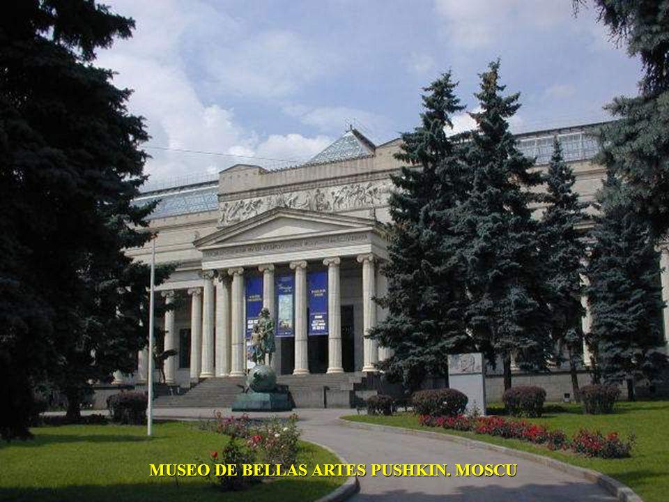 MUSEO DE BELLAS ARTES PUSHKIN. MOSCU