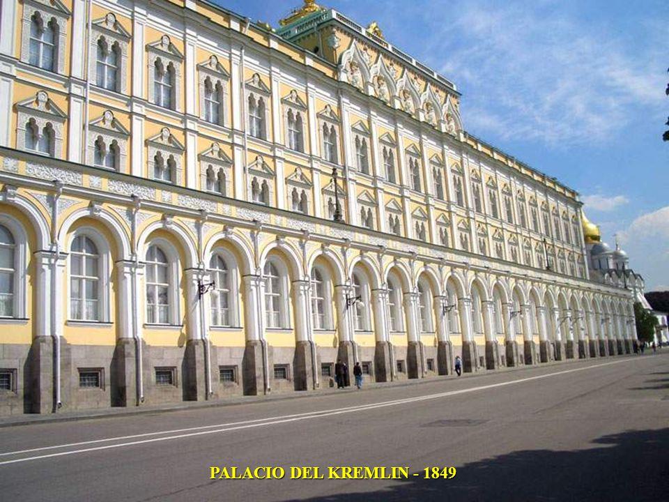 PALACIO DEL KREMLIN - 1849