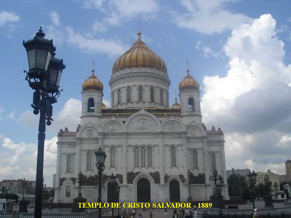 TEMPLO DE CRISTO SALVADOR - 1889