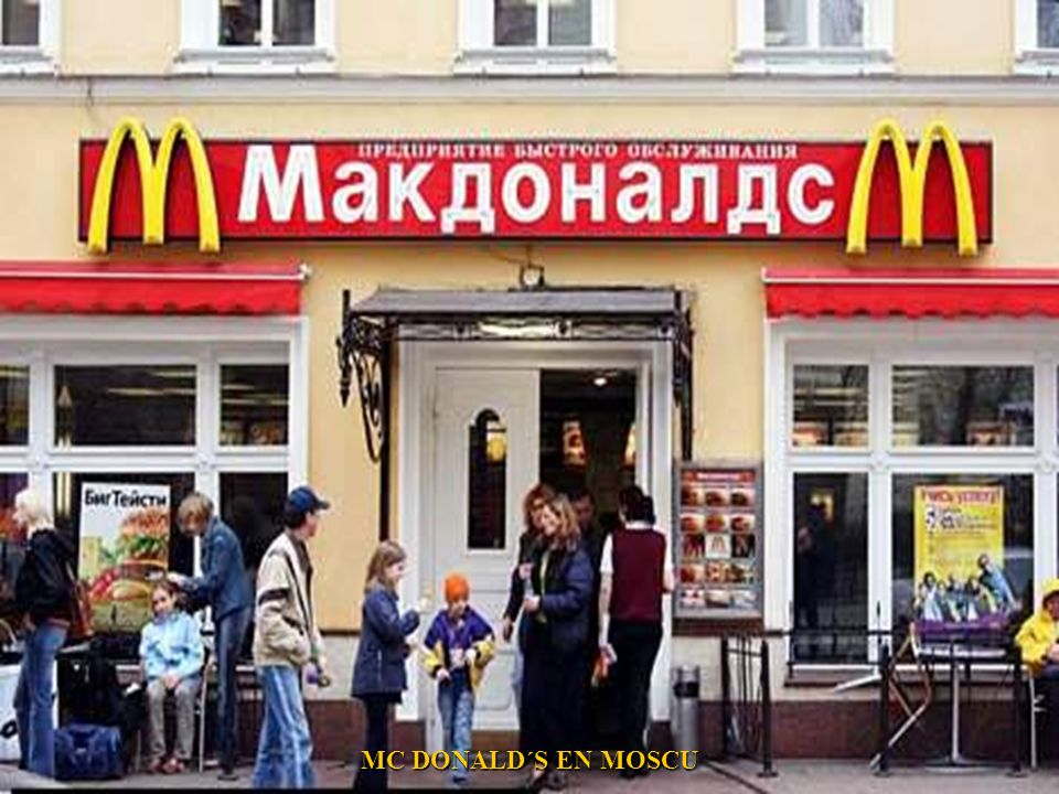MC DONALD´S EN MOSCU