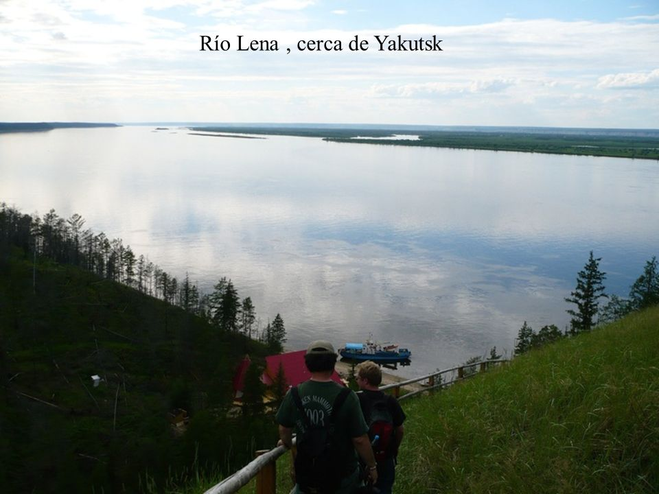 Río Lena , cerca de Yakutsk