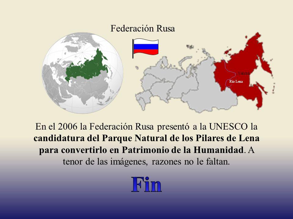 Federación Rusa .Yakutsk. Río Lena.