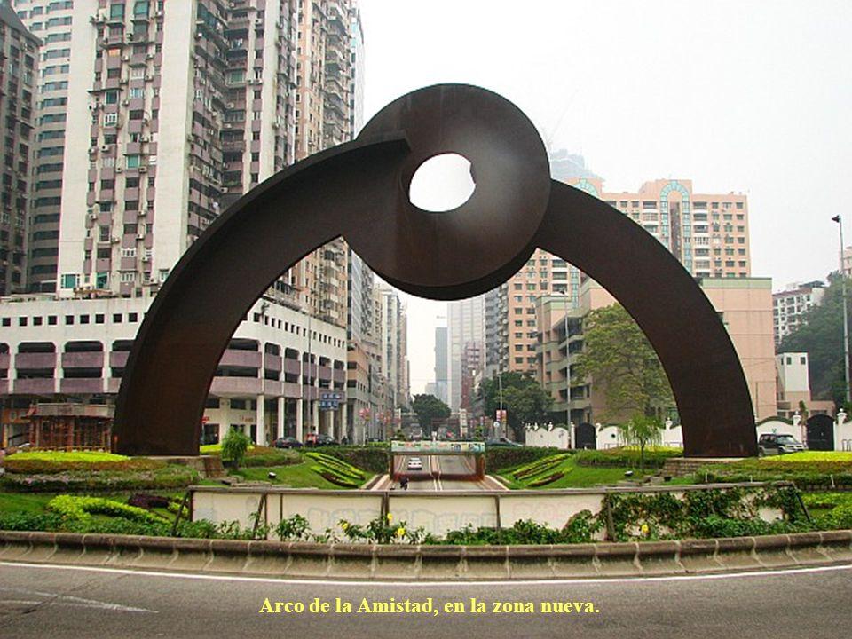 Arco de la Amistad, en la zona nueva.