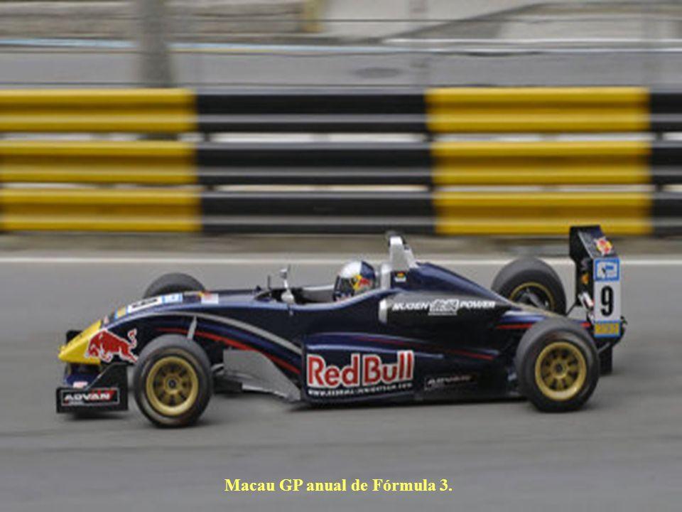 Macau GP anual de Fórmula 3.