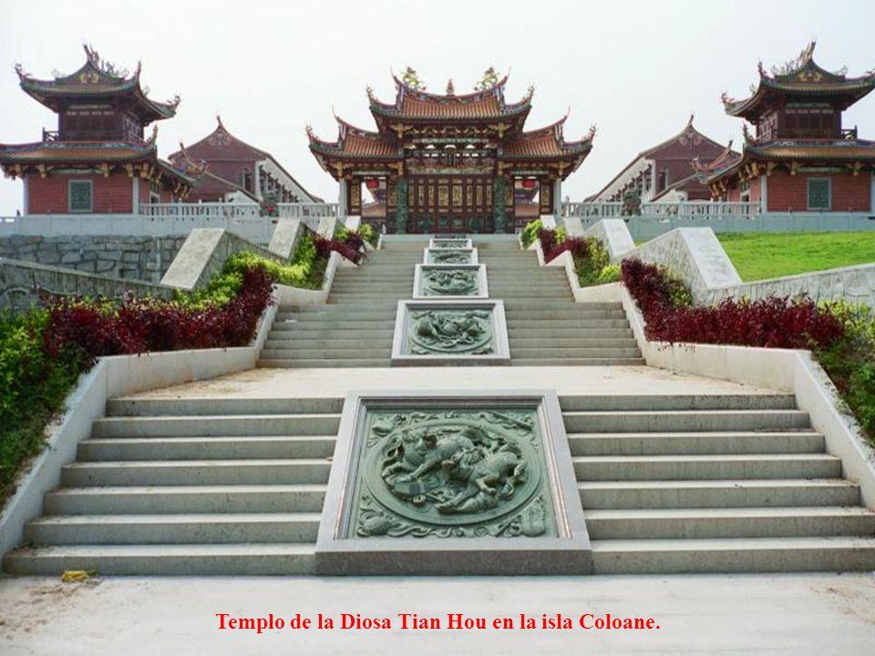 Templo de la Diosa Tian Hou en la isla Coloane.