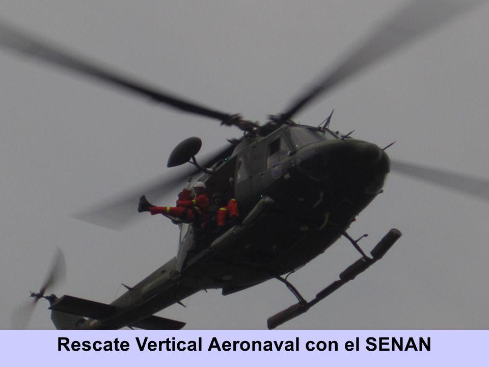 Rescate Vertical Aeronaval con el SENAN