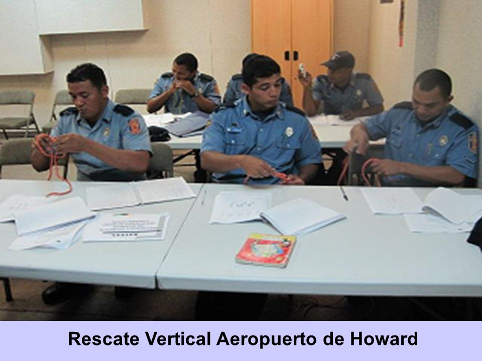 Rescate Vertical Aeropuerto de Howard